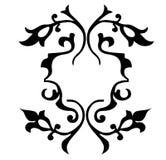 флористический вектор орнамента иллюстрации Стоковые Изображения