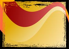 флористический вектор grunge рамки Стоковые Фото