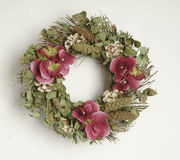 флористический венок штока фото Стоковое Изображение