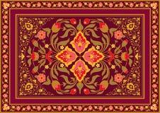 Флористический дизайн в восточном стиле Стоковые Изображения