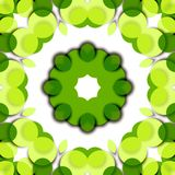 флористический зеленый цвет Иллюстрация вектора