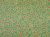 флористический зеленый шелк Стоковая Фотография RF