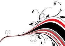 флористический красный цвет радуги Стоковые Фотографии RF