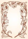 Флористический объем иллюстрация штока