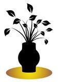 флористический опарник Иллюстрация вектора