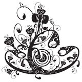 флористический орнамент бесплатная иллюстрация