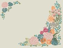 флористический орнамент Стоковые Изображения RF