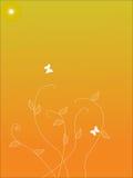 флористический орнамент Стоковое Изображение RF