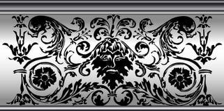 флористический орнамент Стоковая Фотография RF