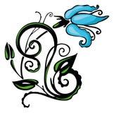 флористический орнамент Стоковое фото RF