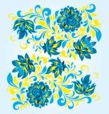 флористический орнамент Стоковое Изображение