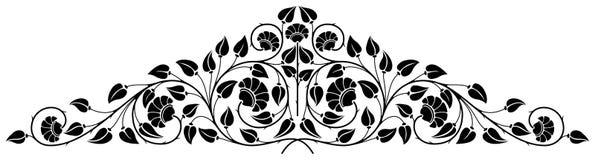 флористический орнамент Стоковая Фотография