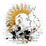 флористический панк Стоковые Фотографии RF