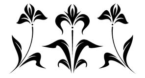 флористический первоначально вектор орнамента Стоковая Фотография