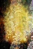 флористический сбор винограда тканья Стоковые Изображения RF