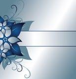 флористический серебр рамки Стоковые Изображения RF