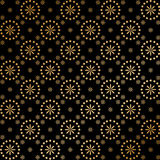 флористическое золото Стоковое фото RF