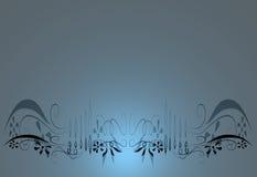 флористическое предпосылки голубое Стоковая Фотография RF