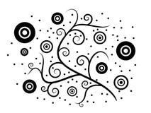 флористическое ретро иллюстрация вектора