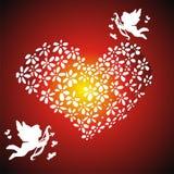 флористическое сердце Стоковое фото RF