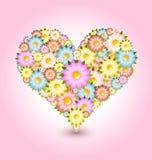 флористическое сердце Стоковые Изображения RF