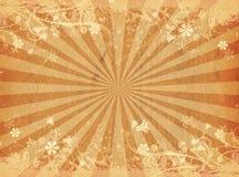 флористическое grunge иллюстрация вектора