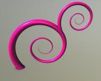 флористическое pinky Стоковое Изображение
