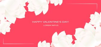 Флористическое templatecard приглашения свадьбы с цветками лотоса, листьями смогите конструктор каждый вектор оригиналов предмета бесплатная иллюстрация