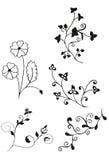 Флористическо decores иллюстрация штока
