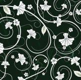 флористическо swirly иллюстрация вектора