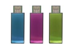 Флэш-память USB Стоковое Изображение RF