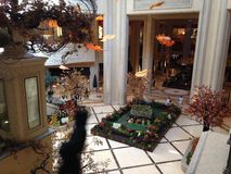 Фойе подвала венецианской гостиницы Стоковая Фотография RF