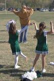 фокуса ноги практики pom Стоковая Фотография RF