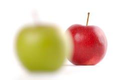 фокусировать яблок Стоковая Фотография RF