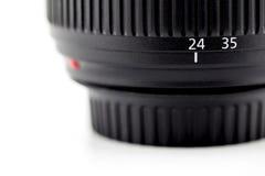 Фокусируя бочонок кольца и объектива камеры Стоковые Изображения RF