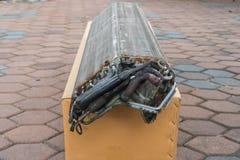 Фокус воздуха сота селективный из заказа Стоковое Фото