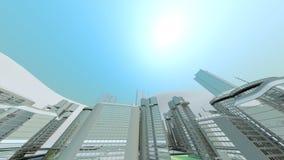 фокус города предпосылки весьма очень Стоковые Фото