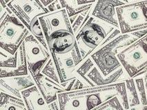 фокус глаз долларов предпосылки Стоковые Фото