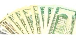 фокус глаз долларов предпосылки Стоковое фото RF