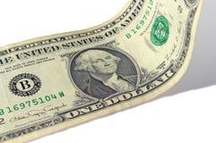 фокус глаз долларов предпосылки Стоковые Изображения RF