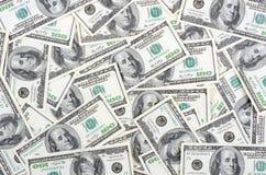 фокус глаз долларов предпосылки Стоковая Фотография