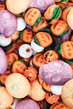 Фокус или обслуживание - конфета хеллоуина Стоковые Фотографии RF