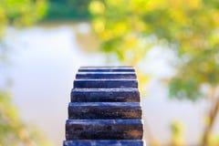 Фокус клапана воды колес шестерни отборный с малой глубиной поля Стоковая Фотография