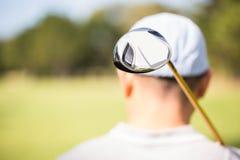 Фокус на переднем плане гольф-клуба Стоковое Изображение