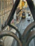 Фокус на трамвае Стоковые Фотографии RF