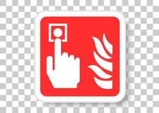 фокус пожара поля dept кнопки сигнала тревоги отмелый бесплатная иллюстрация