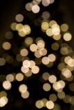 фокус рождества освещает мягко ультра Стоковая Фотография RF