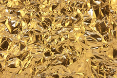 фольга золотистая Стоковые Изображения
