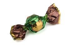 фольга конфеты обернула стоковая фотография