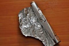 Фольга металла стоковые изображения